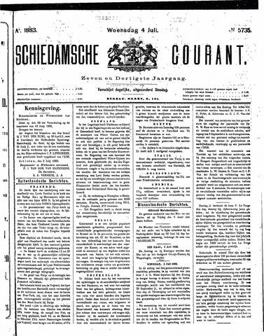 Schiedamsche Courant 1883-07-04