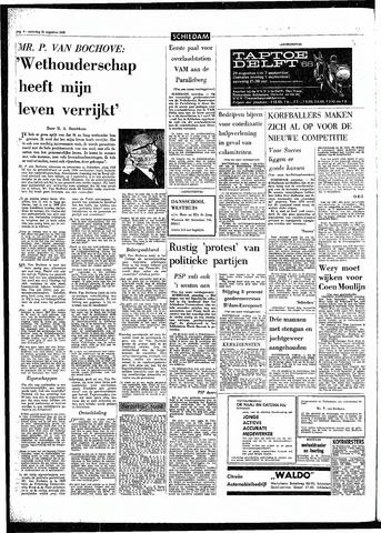 Rotterdamsch Parool / De Schiedammer 1968-08-24