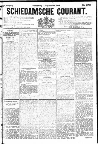 Schiedamsche Courant 1908-09-17