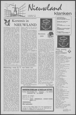 Nieuwland Klanken 1969-12-18