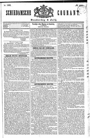 Schiedamsche Courant 1862-07-03