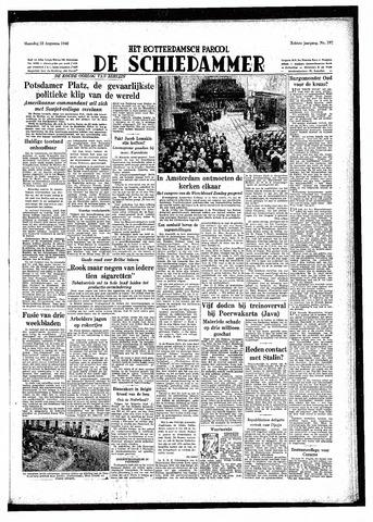 Rotterdamsch Parool / De Schiedammer 1948-08-23