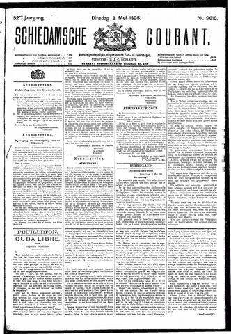 Schiedamsche Courant 1898-05-03