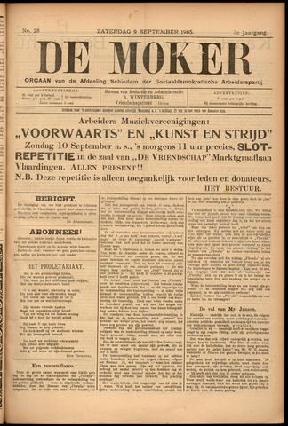 De Moker 1905-09-09