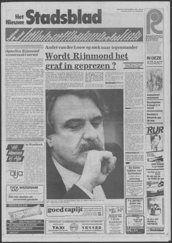 Het Nieuwe Stadsblad 1985-11-22