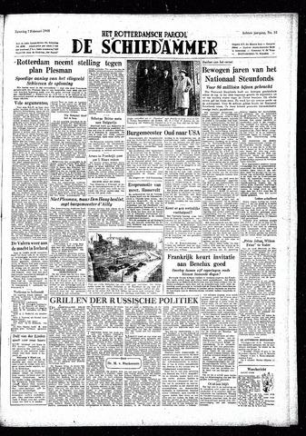 Rotterdamsch Parool / De Schiedammer 1948-02-07