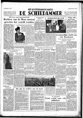 Rotterdamsch Parool / De Schiedammer 1949-12-10