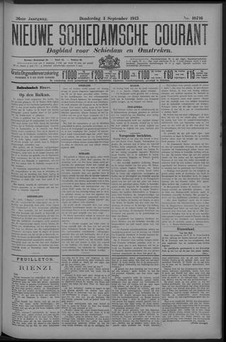 Nieuwe Schiedamsche Courant 1913-09-04