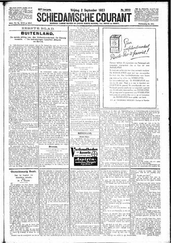 Schiedamsche Courant 1927-09-02