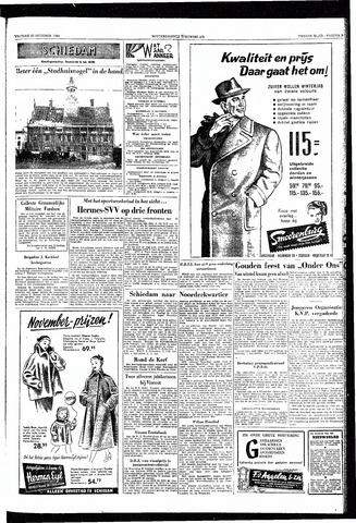 Rotterdamsch Nieuwsblad / Schiedamsche Courant / Rotterdams Dagblad / Waterweg / Algemeen Dagblad 1953-10-30