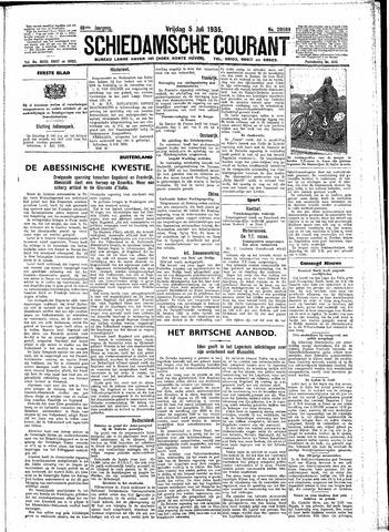 Schiedamsche Courant 1935-07-05