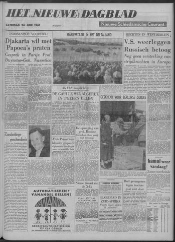 Nieuwe Schiedamsche Courant 1961-06-24