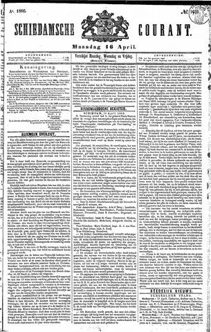 Schiedamsche Courant 1866-04-16