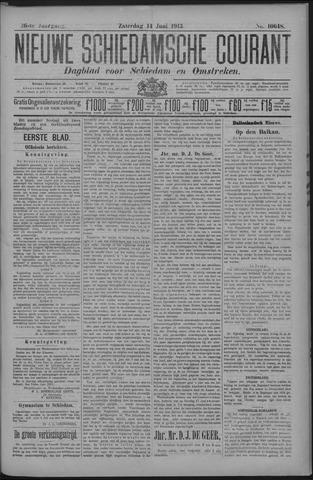 Nieuwe Schiedamsche Courant 1913-06-14