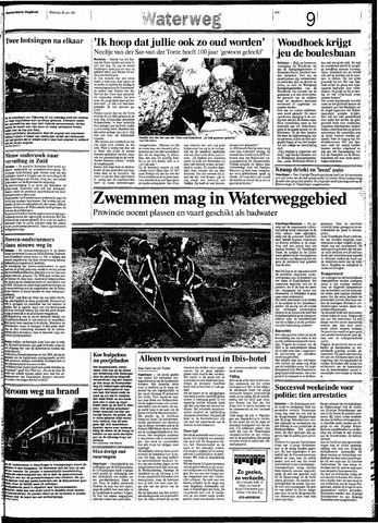 Rotterdamsch Nieuwsblad / Schiedamsche Courant / Rotterdams Dagblad / Waterweg / Algemeen Dagblad 1991-07-29