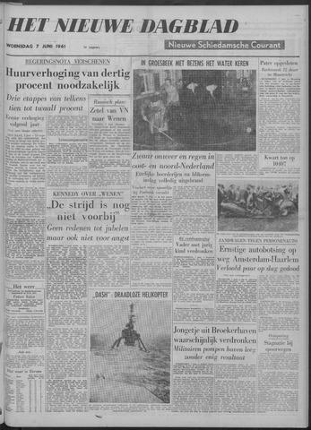 Nieuwe Schiedamsche Courant 1961-06-07
