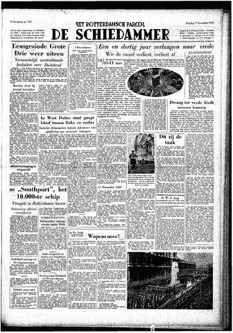 Rotterdamsch Parool / De Schiedammer 1949-11-11