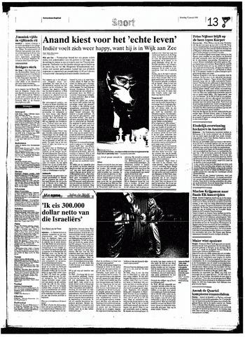 Rotterdamsch Nieuwsblad / Schiedamsche Courant / Rotterdams Dagblad / Waterweg / Algemeen Dagblad 1998-01-17