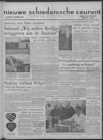 Nieuwe Schiedamsche Courant 1958-11-22