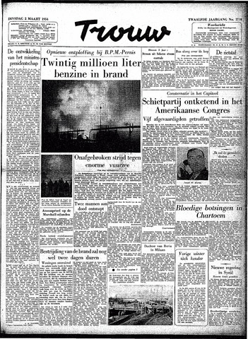 Trouw / De Rotterdammer 1954-03-02