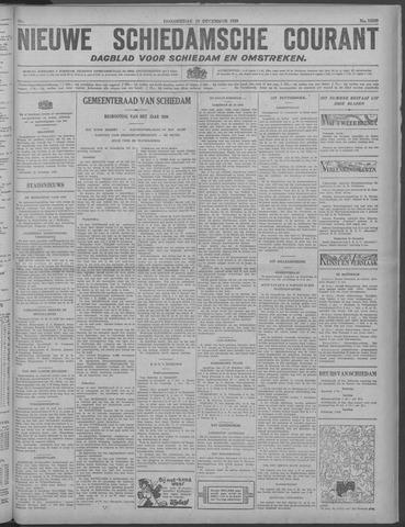 Nieuwe Schiedamsche Courant 1929-12-19