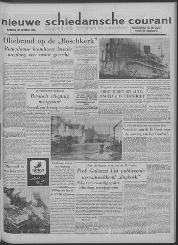 Nieuwe Schiedamsche Courant 1958-10-20