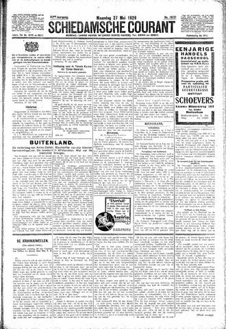 Schiedamsche Courant 1929-05-27