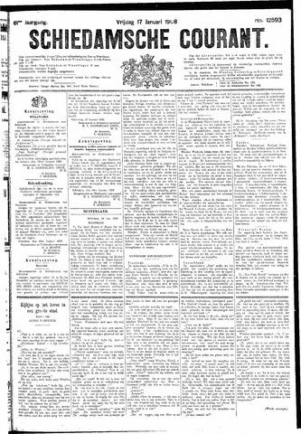 Schiedamsche Courant 1908-01-17