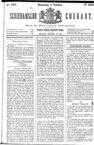 Schiedamsche Courant 1877-10-08