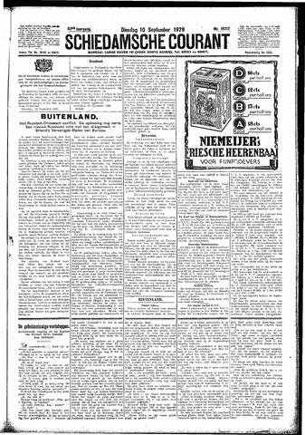 Schiedamsche Courant 1929-09-10
