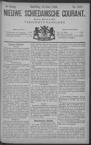 Nieuwe Schiedamsche Courant 1886-06-12