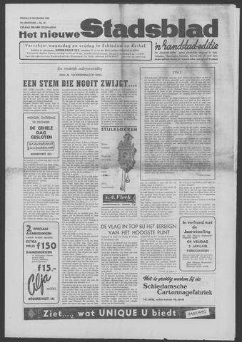 Het Nieuwe Stadsblad 1963-12-27