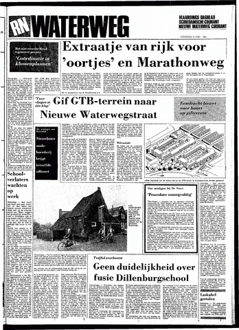 Rotterdamsch Nieuwsblad / Schiedamsche Courant / Rotterdams Dagblad / Waterweg / Algemeen Dagblad 1983-04-21
