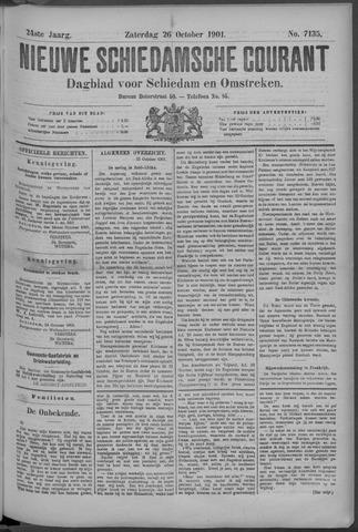 Nieuwe Schiedamsche Courant 1901-10-26