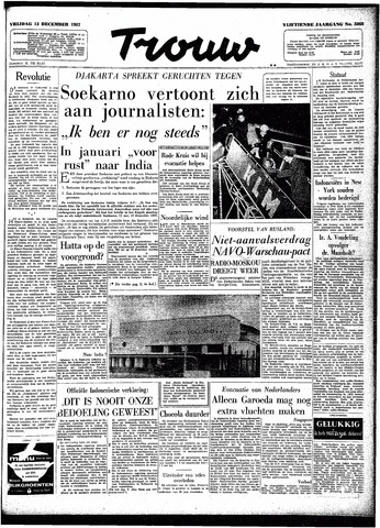 Trouw / De Rotterdammer 1957-12-13