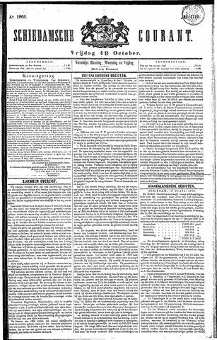 Schiedamsche Courant 1866-10-19