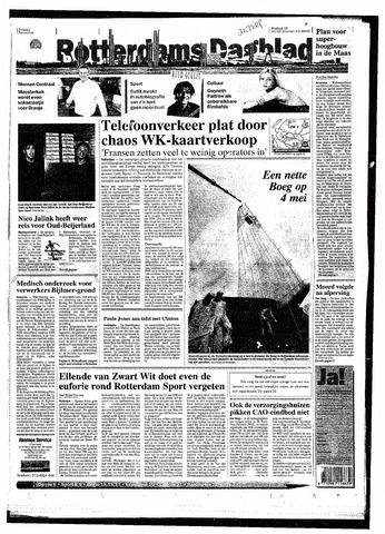 Rotterdamsch Nieuwsblad / Schiedamsche Courant / Rotterdams Dagblad / Waterweg / Algemeen Dagblad 1998-04-22
