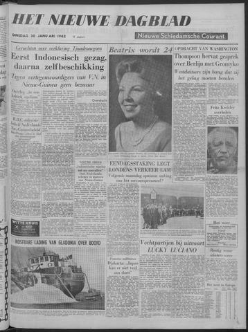 Nieuwe Schiedamsche Courant 1962-01-30