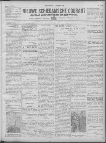 Nieuwe Schiedamsche Courant 1932-08-04