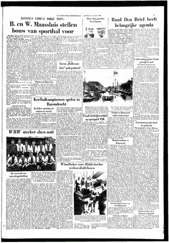 Rotterdamsch Nieuwsblad / Schiedamsche Courant / Rotterdams Dagblad / Waterweg / Algemeen Dagblad 1966-06-28