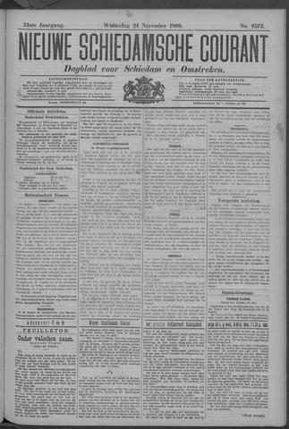 Nieuwe Schiedamsche Courant 1909-11-24