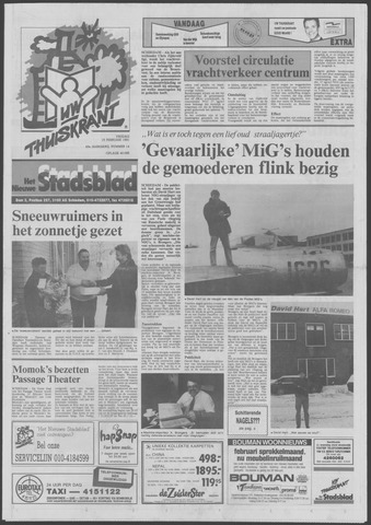 Het Nieuwe Stadsblad 1991-02-15