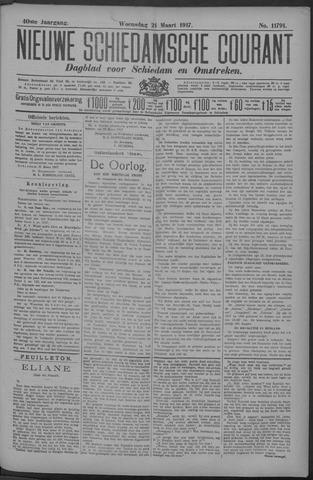 Nieuwe Schiedamsche Courant 1917-03-21