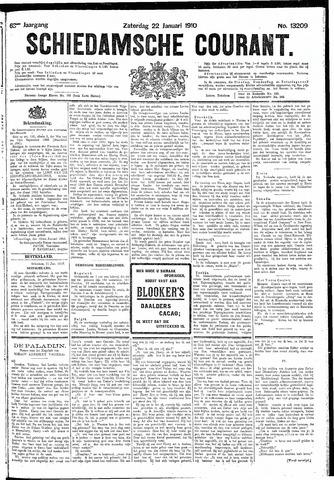 Schiedamsche Courant 1910-01-22