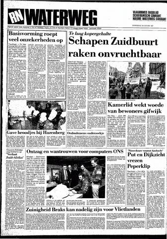 Rotterdamsch Nieuwsblad / Schiedamsche Courant / Rotterdams Dagblad / Waterweg / Algemeen Dagblad 1987-01-29