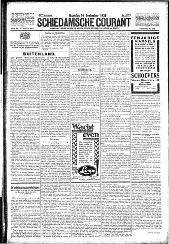Schiedamsche Courant 1929-09-16