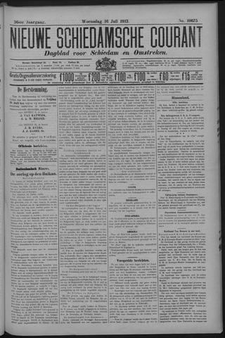 Nieuwe Schiedamsche Courant 1913-07-16