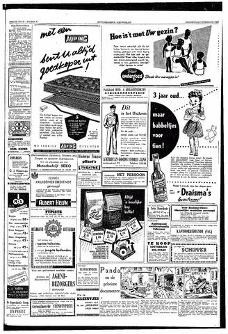 Rotterdamsch Nieuwsblad / Schiedamsche Courant / Rotterdams Dagblad / Waterweg / Algemeen Dagblad 1953-02-05