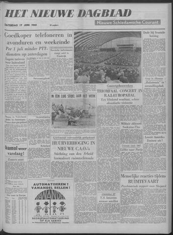 Nieuwe Schiedamsche Courant 1961-06-17