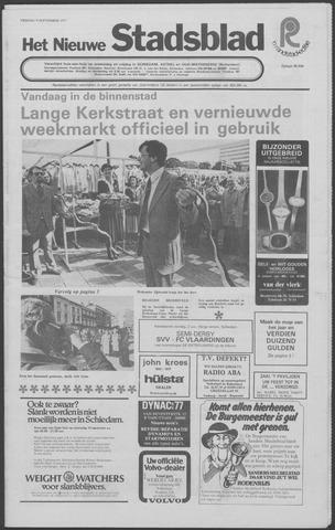 Het Nieuwe Stadsblad 1977-09-09
